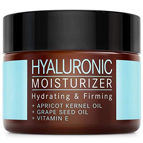 DER SIEGER 2020* - Hyaluronsäure Creme mit Aprikosenkernöl und Vitamin E - VEGAN – 50 ml made in...