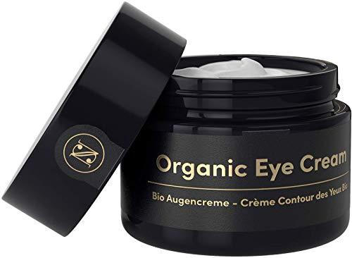 Straffende BIO Augencreme gegen Falten und Augenringe 30ml – Anti Falten Creme mit Arganöl...