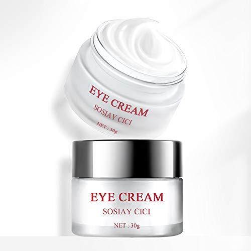 Augencreme, SOSIAY CICI Augencreme, Anti-Aging mit Hyaluronsäure für Augenringe,...