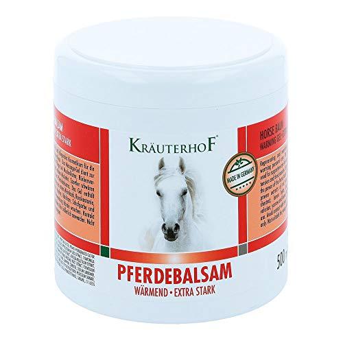 Kräuterhof Pferdebalsam wärmend - Extra stark 500ml - Massagegel - Unterstützend bei...