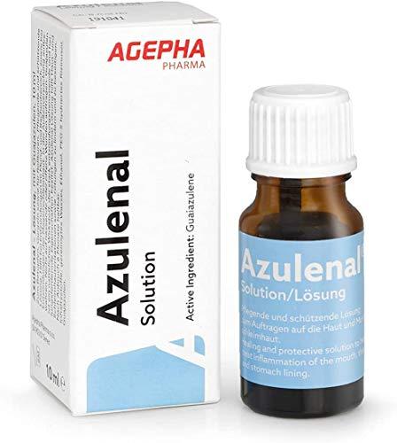 Azulenal Lösung Pflanzliche Behandlung von Entzündungen von Mundschleimhaut, Magen - Darm und als...