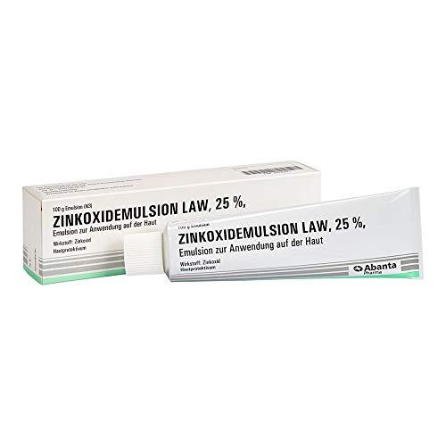 Zinkoxidemulsion LAW 25% Hautprotektivum, 100 g Lösung