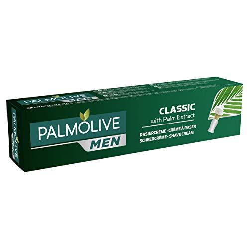Palmolive Men Rasiercreme Classic mit Palm Extrakt, 1 x 100 ml - pflegender Rasierschaum für...