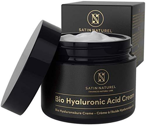 SIEGER 2020* BIO Hyaluronsäure Anti Aging Feuchtigkeitscreme 50ml - Hyaluron hochdosiert für...