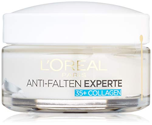 L'Oréal Paris Anti-Falten Experte Feuchtigkeitspflege, für 35+, mildert Fältchen und gibt...