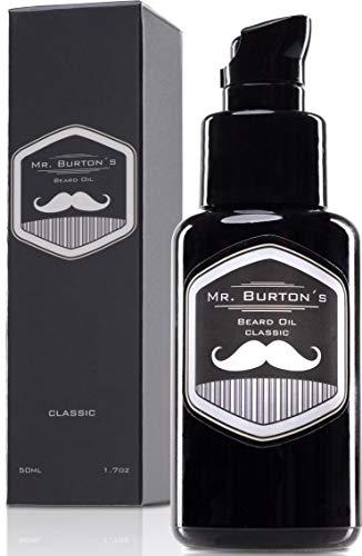 Bartöl - Mr. Burton´s Beard Oil - classic - Made in Germany-50ml Bart Öl für die Bartpflege -...