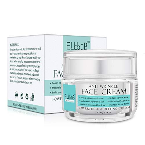 Anti-Aging Creme - Anti Aging Hyaluron Creme - Feuchtigkeitspflege fr Gesicht und Augen -...