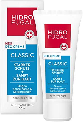 Hidrofugal Deo Creme Classic im 1er Pack (1 x 50 ml), hochwirksames Deodorant gegen Körpergeruch...