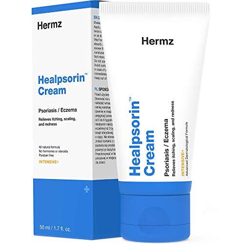 Healpsorin-Creme (50 ml) für Psoriasis, Ekzem, Rosacea und Dermatitis - Tief Eindringender...