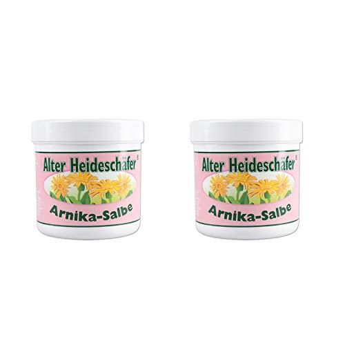 Arnika Salbe 2 x 250 ml ASAM Alter Heideschäfer Set trockene, raue Haut (ingesamt 500 ml)