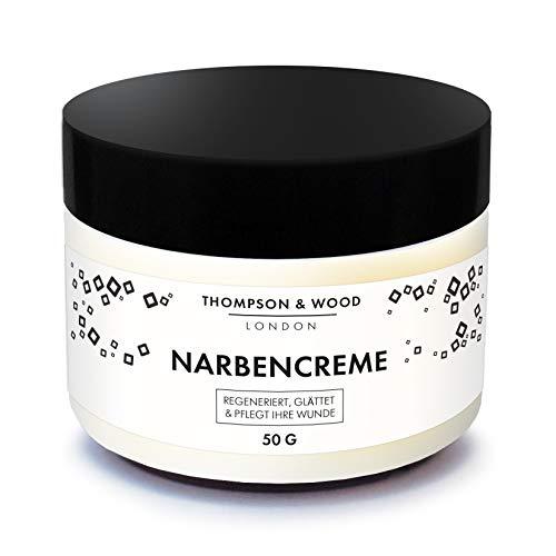 Narbencreme | Effektive Beseitigung von Narben & Aknenarben | Gegen Dehnungsstreifen & Verbrennungen...