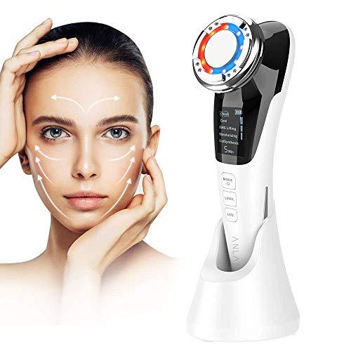 Kosmetisches Ultraschallgerät Faltenentferner Gesichtsmassage Mit ION- Und Photon Funktion...