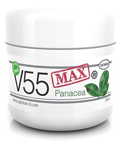 V55 MAX Panacea Natürliche Behandlung Creme Pickel Mitesser Talgkontrolle Milien Rötungen Fettige...
