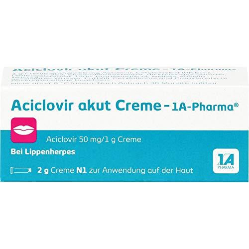 Aciclovir akut Creme - 1A Pharma, 2 g Creme