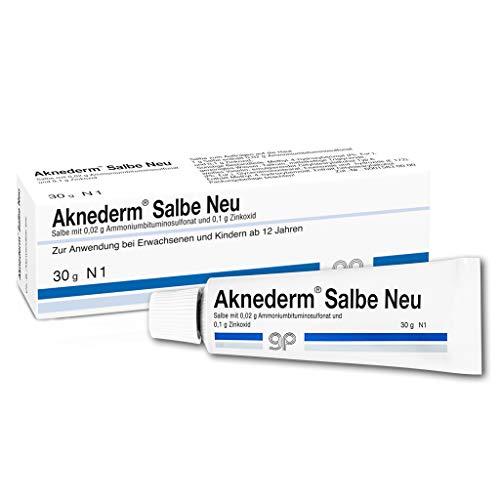 Aknederm Salbe Neu bei Hautunreinheiten, 30 g Salbe