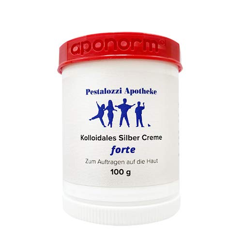 Kolloidales Silber Creme forte (100 g) aus Apotheken-Herstellung - doppelte Konzentration -...