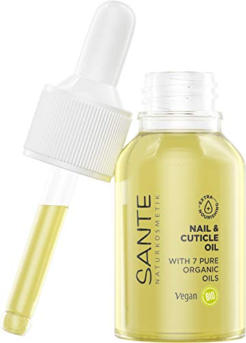 SANTE Naturkosmetik Nail & Cuticle Oil, Nagelpflegeöl, Pflege für Nägel & Nagelhaut, Mit...