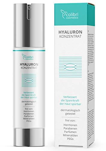 Hyaluronsäure Serum hochdosiert - Testsieger 2020 - natürliche Hyaluron Anti-Aging Creme - 50ml...