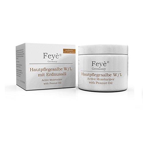 Feyè® Salbe mit Erdnussöl - Hautcreme bei sehr trockener Haut - Ekzem-Creme –...