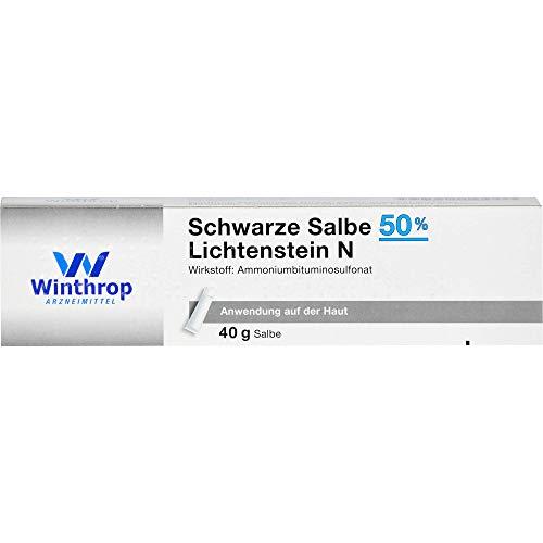 Schwarze Salbe 50% Lichtenstein N, 40 g Salbe
