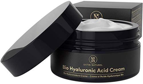 BIO Hyaluronsäure Anti Aging Feuchtigkeitscreme 100ml - Anti-Falten Tages- & Nachtcreme mit Aloe...