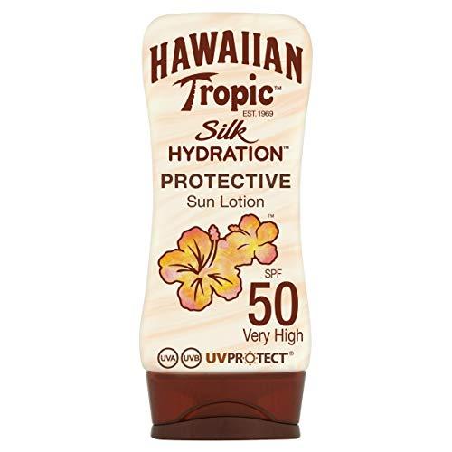 Hawaiian Tropic Silk Hydration Protective Sun Lotion Sonnencreme LSF 50, 180 ml, 1 St
