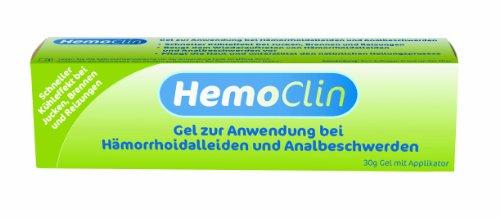 HemoClin Hämorrhoiden-Gel gegen Jucken, Brennen und Reizungen - zur Behandlung, zur Vorbeugung -...