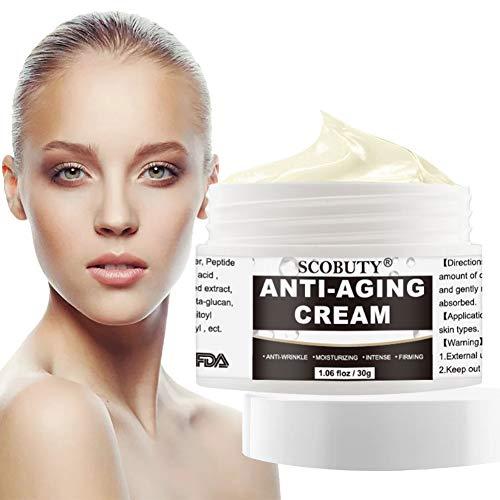 Anti Aging Creme,Anti Falten Creme,Straffende Gesichtscreme,Peptide Feuchtigkeitscreme,Anti Age...