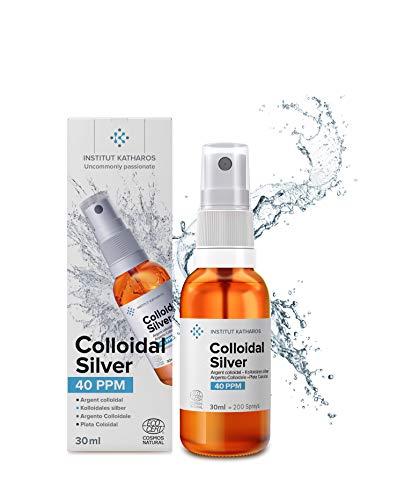 Kolloidales Silber 30ml Minispray 40 PPM • 100% natürlich • konzentriert, rein, effizient •...