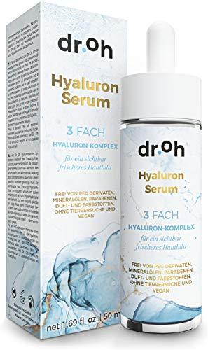 InStyle FAVORIT 06/2020* Hyaluron Serum Hochkonzentriert – Vegane Inhaltsstoffe mit...