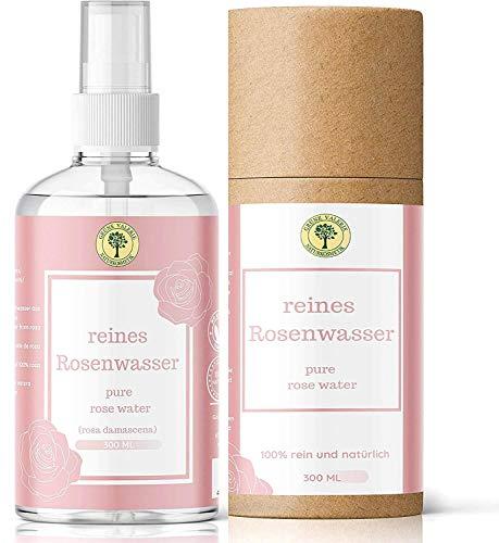 TestSieger! Grüne Valerie Reines Damaszener Rosenwasser Spray 300 ML ohne Alkohol &...