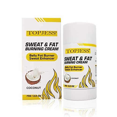Heiße Creme,Anti Cellulite Schweiß & Fett Creme,Schlankheitscreme, Workout Sweat...