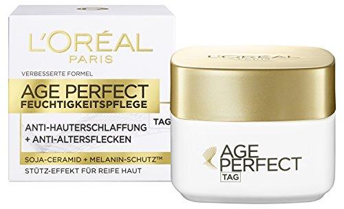 L'Oréal Paris Anti-Aging Feuchtigkeitspflege, Age Perfect Tagescreme für eine straffe Haut und...