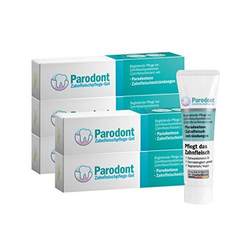 Beovita Parodont Zahnfleischpflege Gel 5er-Set (5 x 10 ml)