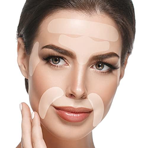 Facial Patches Anti Aging - 165 Gesichts Antifaltenpflaster: Stirn Falten Pads, Augenfältchen...