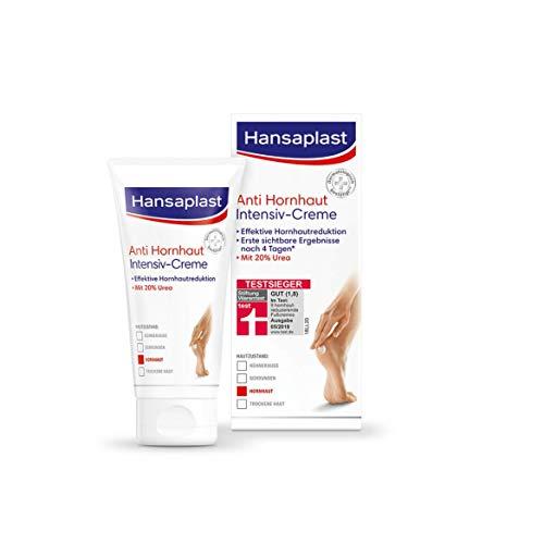Hansaplast Anti Hornhaut Intensiv-Creme (75 ml), Creme zur Hornhaut Entfernung an den Füßen,...