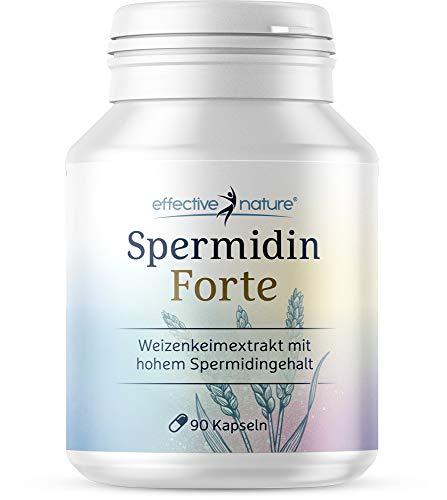 Spermidin Forte, hochdosierter Weizenkeimextrakt, 1,02 mg pro Tagesdosis, mit hoher...