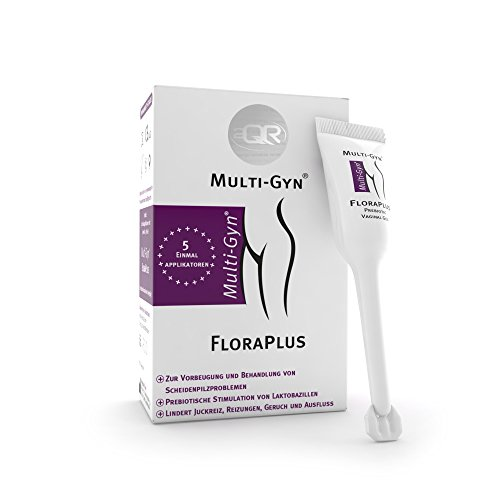 Multi-Gyn FloraPlus zur Behandlung und Vorbeugung von Scheidenpilzinfektionen 5 vordosierte...