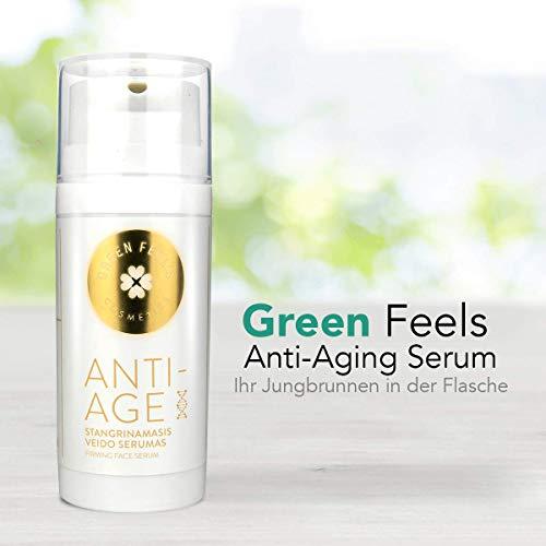 Hyaluronsäure Serum Anti Aging Serum Anti Falten Creme Naturkosmetik Gesichtspflege Frau...
