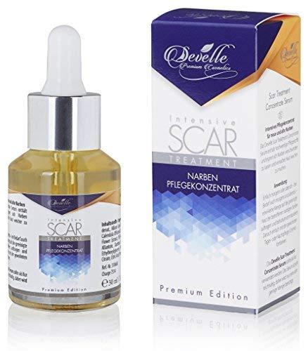 Narben Salbe Creme Serum Gel - Für Gesicht und Körper zur Entfernung von alten und frischen Narben...