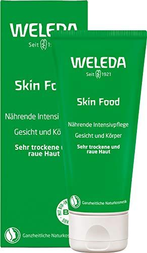 WELEDA Hautcreme Skin Food, reichhaltige Naturkosmetik Körpercreme zur Pflege von rauer, trockener...