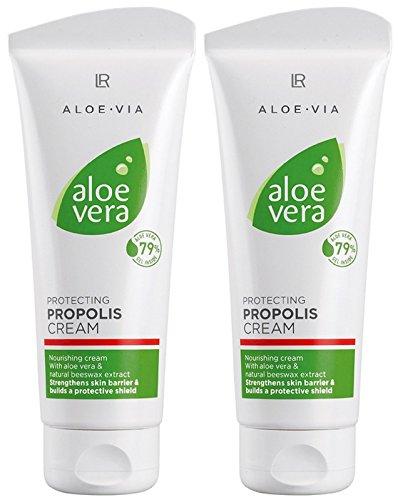 LR ALOE VIA Aloe Vera Schtzende Propolis Creme (2x 100 ml)