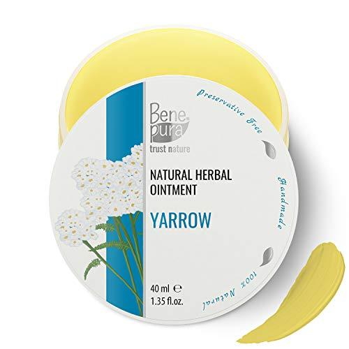 Natürliche Weiße-Schafgarben-Salbe 40 ml, kaltgepresstes Öl Extrakt, 100% natürlich - Gegen...