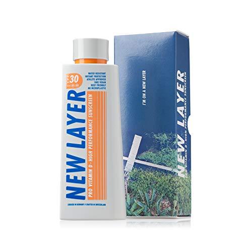 NEW LAYER Sonnencreme | LSF 30 | Pro Vitamin D | Frei von Mikroplastik | Reef-friendly | Frei von...