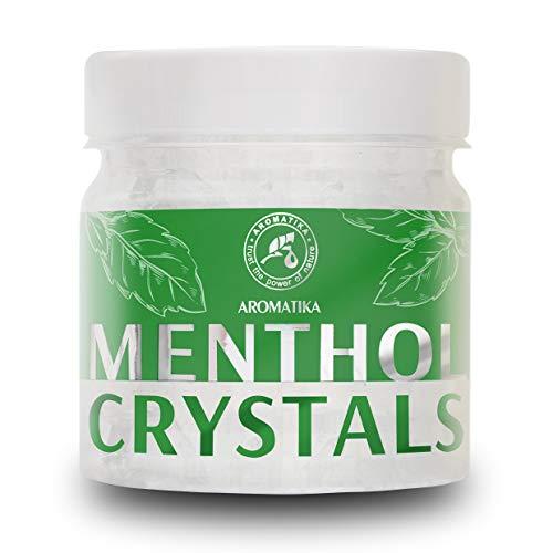 Mentholkristalle 100g - Beruhigend & Erfrischend - Mentholkristalle für die Aromatherapie -...