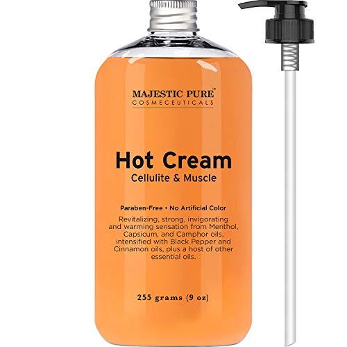 Anti Cellulite Creme *Majestic Pure* 255ml, Straffende Creme fr Po, Beine, Arme, Bestseller aus USA