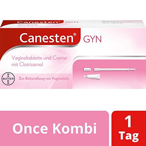 CANESTEN GYNOnceKombi,Vaginaltablette und Creme zur Behandlung von Scheidenpilz mitClotrimazol&...