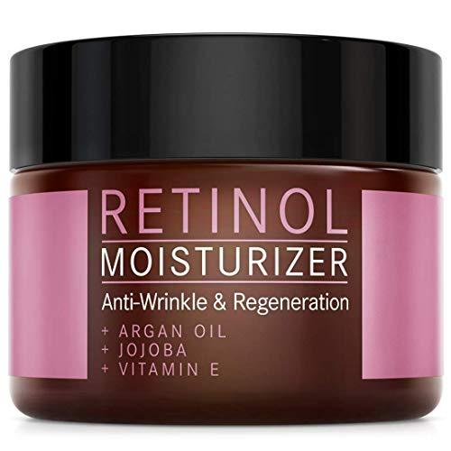 Retinol Creme Moisturizer - 2,5% Retinol Anti-Aging Formel mit Vitamin E, Arganl und Jojoba -...