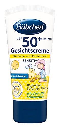Bübchen Sensitiv Sonneschutz Gesichtscreme LSF 50+ (1 x 50 ml)