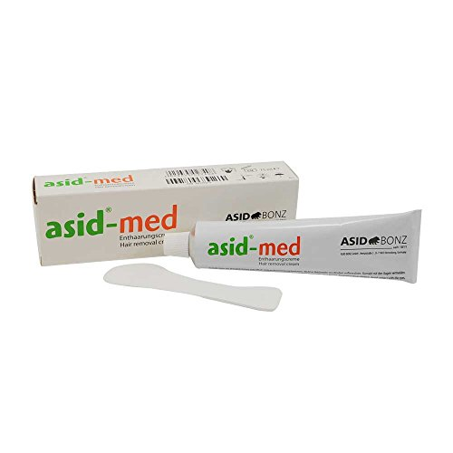Enthaarungscreme asid-med von ASID BONZ, Haarentfernung, Enthaarung,unisex, parfmfrei, 75 ml